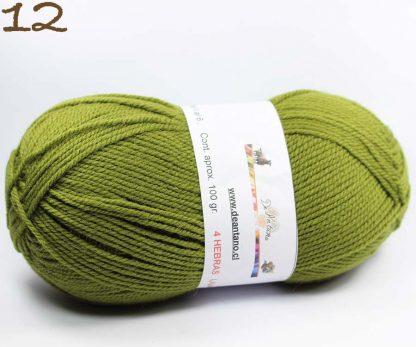 lana de oveja 3 hebras