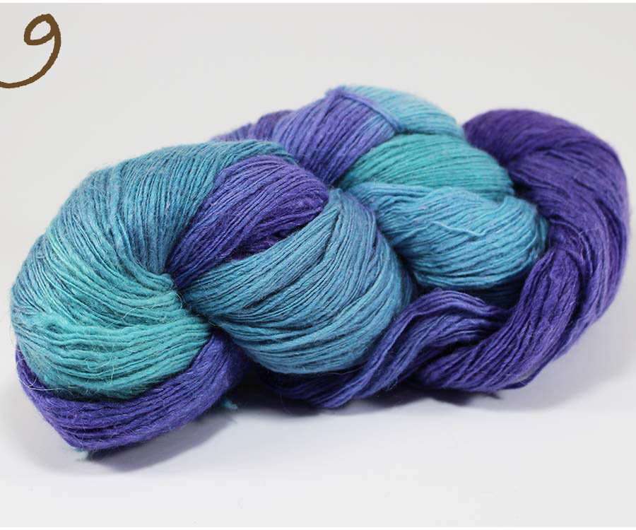 lana merino, seda natural y lino